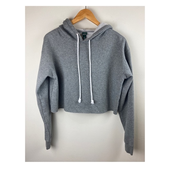 Wild fable crop hoodie oversized small